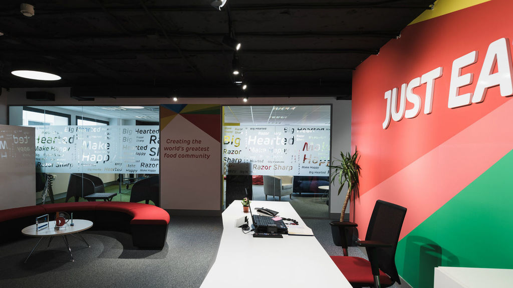 Oficinas de Just Eat.