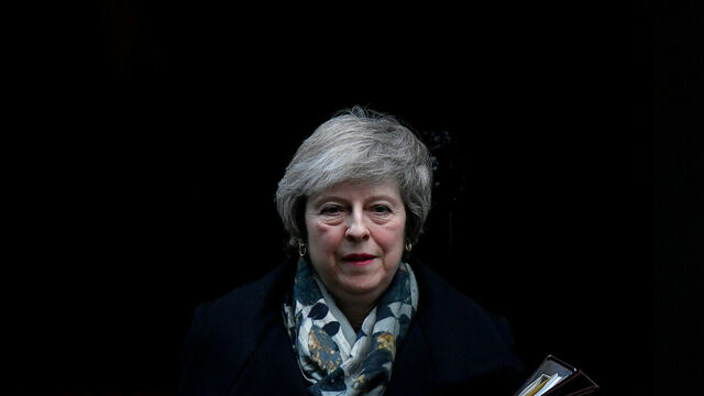 May, a la salida de Downing Street