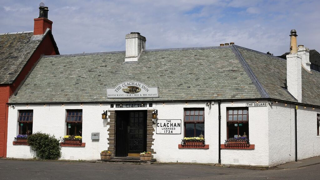 Restaurante The Clachan Inn,